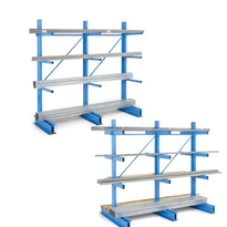 Rayonnage Cantilever simple face ou double faces