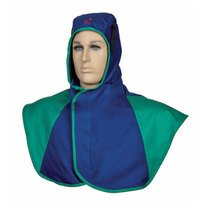 CAGOULE SOUDAGE BLUE IGNIFUGE VERSION LONGUE