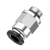 Raccord droit male cylindrique