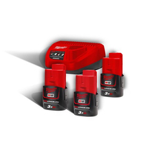 Packs Energie 12V Milwaukee
